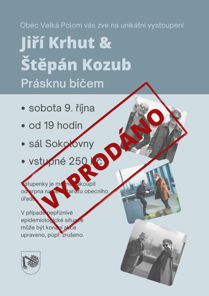 Jiří Krhut & Štěpán Kozub - Prásknu bičem 2